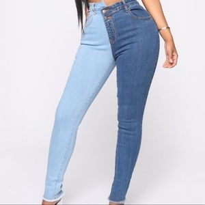 Day and night jeans